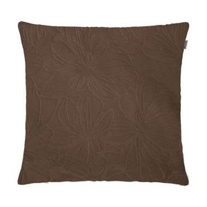 capa-almofada-adomes-veludo-floral-marrom