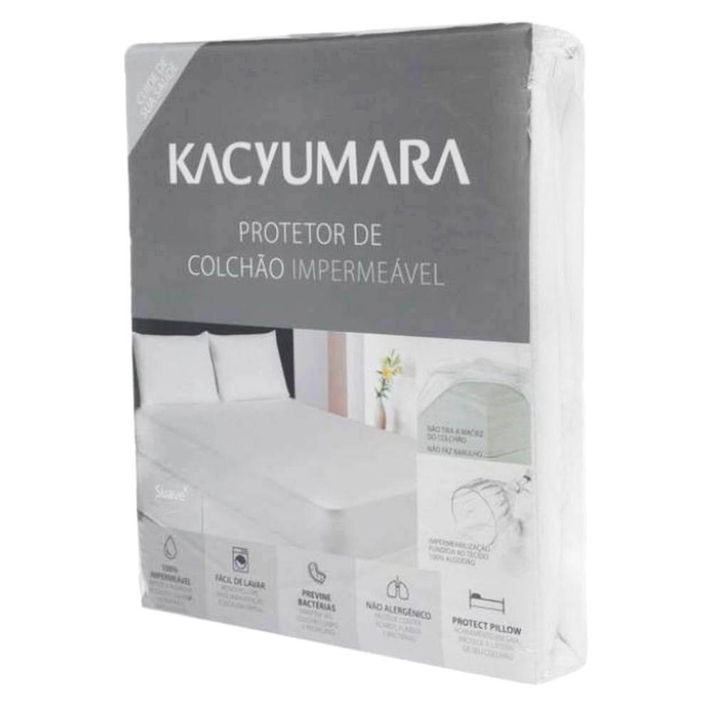 51d91b601 Protetor de Colchão King Impermeável - Kacyumara - emporiodolencol
