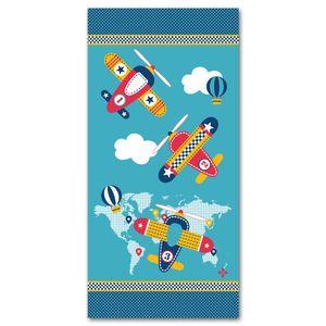 toalha-praia-infantil-avioes-santista