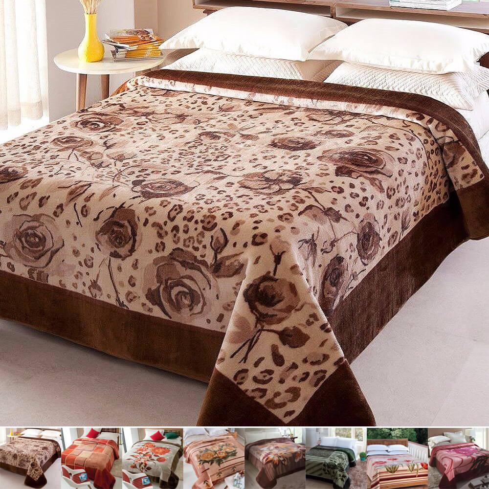 67ba080e39 Cobertor   Manta Casal Raschel - Jolitex - emporiodolencol
