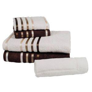 jogo-banho-5-pecas-lumina-ivory-chocolate
