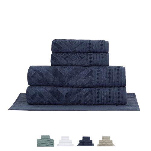 Jogo-Banho-Gigante-5-Pecas-Concordia-100-Algodao-Buddemeyer-Azul