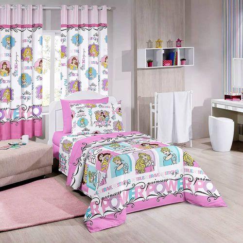 4c00425d0 Jogo de Cama Infantil Princesas da Disney - Santista - emporiodolencol