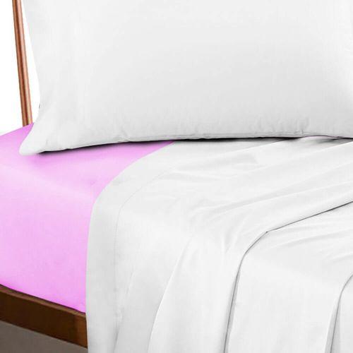 Lencol-Queen-Profissional-com-Elastico-200-Fios---Premium-Rosa-escuro