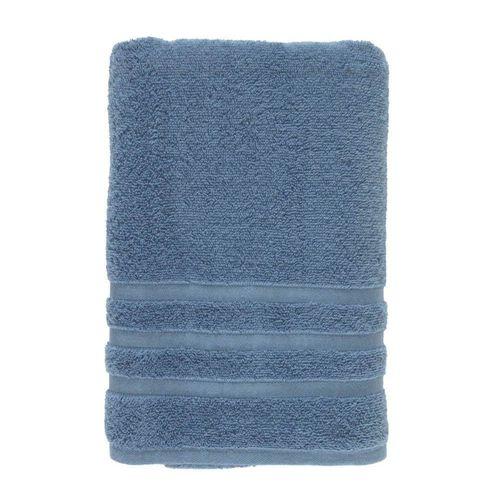 Toalha-de-Rosto-Gigante-em-Algodao-Safira-Karsten-Azul-Crepusculo