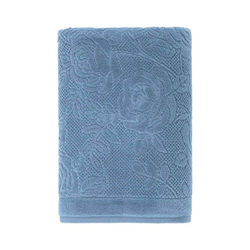 Toalha-de-Rosto-em-Algodao-Charlote-Karsten-Azul-Crepusculo
