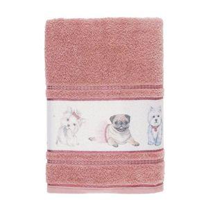 Toalha-Banho-Infantil-Felpuda-Mary-Jane-Karsten-Lady-Pink