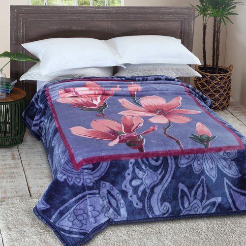 f862453b43 Cobertor   Manta Casal Tradicional - Jolitex - emporiodolencol