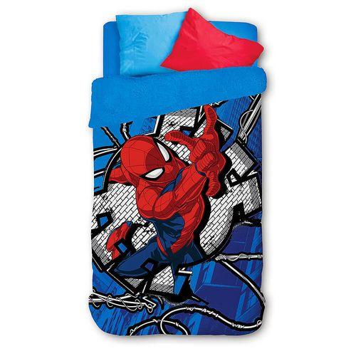 cobertor-edredom-coberdrom-homem-aranha-spider-man-lepper