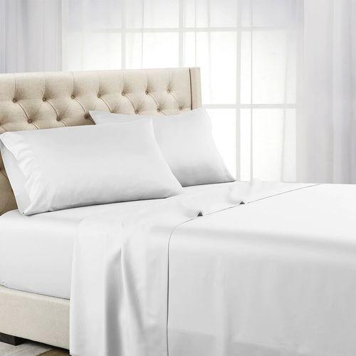 Lencol-Casal-Para-Hotel-sem-Elastico-180-Fios-Tecido-Misto-Tresor