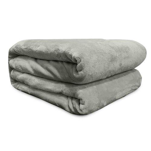 Cobertor-Queen-Flannel-Liso---Andreza---Bege